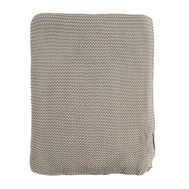 Вязаный плед Tkano Essential, серый, 220х180см - арт.TK18-TH0009, фото 1