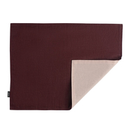 Салфетка под приборы Tkano Essential, бордово-розовая, 35х45см - арт.TK18-PM0014, фото 1