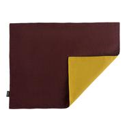 Салфетка под приборы Tkano Essential, бордово-горчичная, 35х45см - арт.TK18-PM0015, фото 1