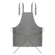 Фартук кулинарный Tkano Essential, серый, 70х82см - арт.TK18-AP0005, фото 1