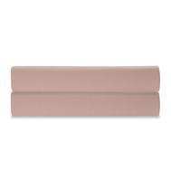 Простыня на резинке Tkano Essential, сатин цвета пыльной розы, 160х200х28 см - арт.TK19-FS0019, фото 1