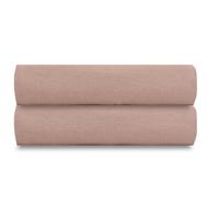 Льняная простыня Tkano Essential, пыльная роза, 240х270см - арт.TK18-LS0026, фото 1