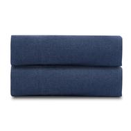 Льняная простыня Tkano Essential, темно-синяя, 180х270см - арт.TK18-LS0019, фото 1