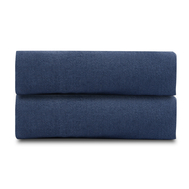 Льняная простыня Tkano Essential, темно-синяя, 240х270см - арт.TK18-LS0025, фото 1