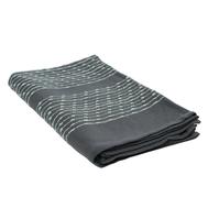 Покрывало из хлопка Tkano Ethnic, серого цвета с декоративной строчкой, 230х250 см - арт.TK19-BS0010, фото 1