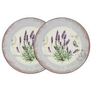 Набор обеденных тарелок Anna Lafarg LF Ceramics Лаванда, керамика, 25см - 2шт - арт.AL-120E2257-L-LF, фото 1