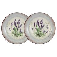 Набор суповых тарелок Anna Lafarg LF Ceramics Лаванда, керамика, 21см - 2шт - арт.AL-80E2256-L-LF, фото 1