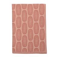 Полотенце кухонное Tkano Wild, хлопок с принтом Sketch бордового цвета, 45х70 см - арт.TK19-TT0009, фото 1