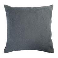 Подушка декоративная Tkano Essential, из хлопка фактурного плетения темно-серого цвета, 45х45 - арт.TK19-CU0015, фото 1