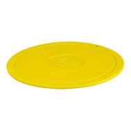 Подставка под горячее Lodge, круглая силиконовая, 18см, желтый - арт.AS7DT22, фото 1
