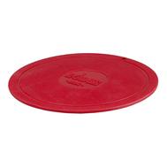 Подставка под горячее Lodge, круглая силиконовая, 18см, красная - арт.AS7DT41, фото 1