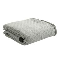 Покрывало из стираного хлопка Tkano Essential, серого цвета, 230х250 см - арт.TK19-BS0006, фото 1