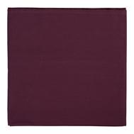 Скатерть на стол Tkano Wild, хлопок бордового цвета, 170х170 см - арт.TK19-TC0005, фото 1