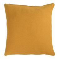 Подушка декоративная Tkano Essential, из хлопка фактурного плетения цвета шафрана, 45х45 см - арт.TK19-CU0014, фото 1