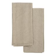 Набор вафельных кухонных полотенец Tkano Essential, из умягченного хлопка, бежевый, 50х70 см - 2шт - арт.TK19-TT0004, фото 1