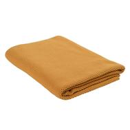 Плед вязаный из хлопка Tkano Essential, цвета шафрана, 130х180 см - арт.TK19-TH0004, фото 1