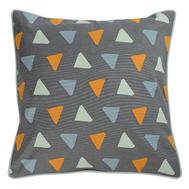 Чехол для декоративной подушки Tkano Wild, хлопок с дизайнерским принтом Triangles, 45х45 см - арт.TK19-CC0006, фото 1