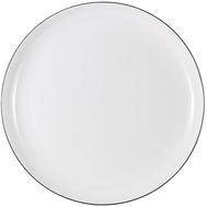 Тарелка закусочная Anna Lafarg Emily Арктика, костяной фарфор, 23см - арт.AL-107A-E11, фото 1