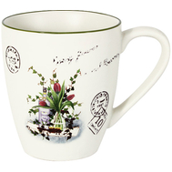 Кружка Anna Lafarg LF Ceramics Букет, керамика, 0.45л - арт.AL-135F6283-B-LF, фото 1