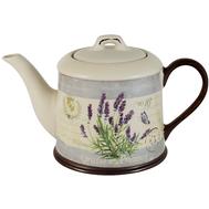 Чайник заварочный Anna Lafarg LF Ceramics Лаванда, керамика, 1л - арт.AL-290F8563-L-LF, фото 1
