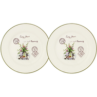 Набор десертных тарелок Anna Lafarg LF Ceramics Букет, керамика, 20см - 2шт - арт.AL-55E2258-3-B-LF, фото 1