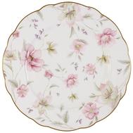 Тарелка обеденная Anna Lafarg Emily Розовый танец, костяной фарфор, 26.5см - арт.AL-M1661_DP-E9, фото 1