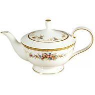 Чайник заварочный с крышкой Narumi Наслаждение, костяной фарфор, 0.6л - арт.N51229-4416AL, фото 1