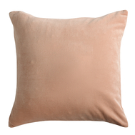 Подушка декоративная Tkano Essential, из хлопкового бархата цвета пыльной розы, 45х45 см - арт.TK19-CU0005, фото 1