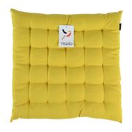 Подушка на стул Tkano Wild, горчичного цвета, 40х40 см - арт.TK19-CP0002, фото 1