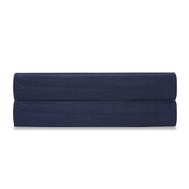 Простыня Tkano Essential, сатин темно-синего цвета, 180х270 см - арт.TK19-SH0007, фото 1
