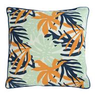 Чехол для декоративной подушки Tkano Wild, хлопок с дизайнерским принтом Leaves, 45х45 см - арт.TK19-CC0002, фото 1