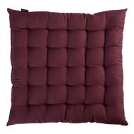 Подушка на стул Tkano Wild, бордового цвета, 40х40 см - арт.TK19-CP0004, фото 1