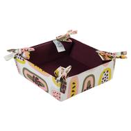 Корзинка для хлеба Tkano Wild, хлопок бордового цвета с принтом Passion Fruit, 35х35 см - арт.TK19-BB0002, фото 1