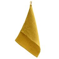 Полотенце кухонное вафельное Tkano Essential, из умягченного льна горчичного цвета, 47x70 см - арт.TK18-TT0004, фото 1