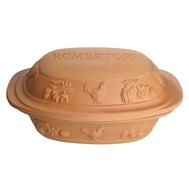 Посуда глиняная для запекания с крышкой Roemertopf Rustico, на 2.5кг мяса - арт.119 05, фото 1