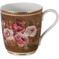 Кружка фарфоровая Anna Lafarg Emily Английская роза, 300мл - арт.AL-M2188_M-E9, фото 1