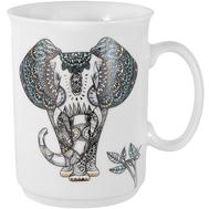 Кружка фарфоровая Home & Style Слон, 415мл - арт.HS3-M197-1939-D, фото 1