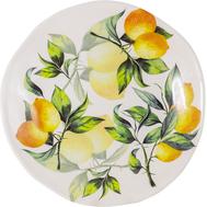 Тарелка обеденная Julia Vysotskaya Лимоны, керамика, 29см - арт.JV3-DP29I-30031, фото 1