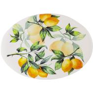 Блюдо овальное Julia Vysotskaya Лимоны, керамика, 39х28см - арт.JV3-OVPL38I-30031, фото 1