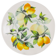 Тарелка салатная Julia Vysotskaya Лимоны, керамика, 22см - арт.JV3-SAP23I-30031, фото 1