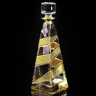 Штоф для виски Migliore DeLuxe Idalgo, хрусталь янтарный, 1л 32см - арт.25665, фото 1