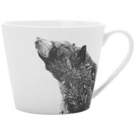 Кружка фарфоровая Maxwell & Williams Чёрный медведь, 450мл - арт.MW637-DX0511, фото 1
