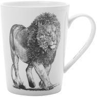 Кружка фарфоровая Maxwell & Williams Африканский лев, 450мл - арт.MW637-DX0515, фото 1