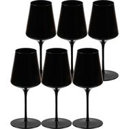 Бокалы для красного вина Sophienwald Black Line Bordeaux, 570мл - 6шт - арт.Sw2030-6, фото 1
