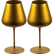 Бокалы для красного вина Sophienwald Golden Line Burgogne, 770мл - 2шт - арт.Sw888R-2, фото 1