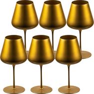 Бокалы для красного вина Sophienwald Golden Line Burgogne, 770мл - 6шт - арт.Sw888R-6, фото 1