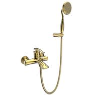 AltroBagno Смеситель для ванны с душем Beatrice 0210 Or, фото 1