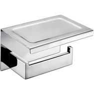 AltroBagno Держатель для туалетной бумаги с полкой Aperto 080907 Cr, фото 1