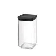 Brabantia Прямоугольный контейнер (1,6 л), Темно-серый  - арт.122385, фото 1