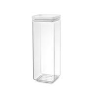 Brabantia Прямоугольный контейнер (2,5 л), Светло-серый  - арт.122545, фото 1